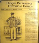1890 male sprot suit