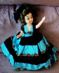 FASHION DOLL TURQUOISE