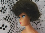 barbie bubble brunette knit face view