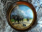 working horses plate